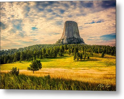 Devil's Tower - The Other Side Metal Print by Rikk Flohr