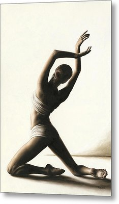Devotion To Dance Metal Print by Richard Young