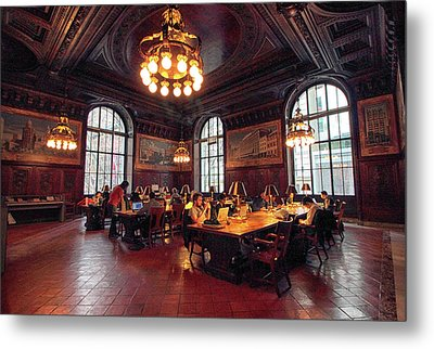 Dewitt Wallace Periodical Room Metal Print