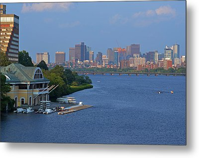 Dewolfe Boathouse Boston Ma Metal Print by Toby McGuire