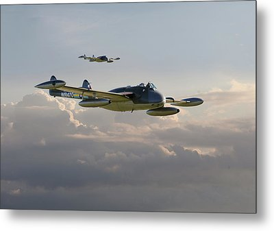 Metal Print featuring the photograph  Dh112 - Venom by Pat Speirs