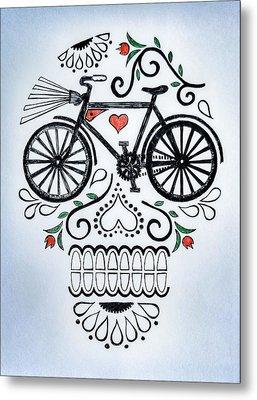Muertocicleta Metal Print by John Parish
