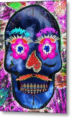 Dia De Los Muertos Metal Print by Dolly Sanchez