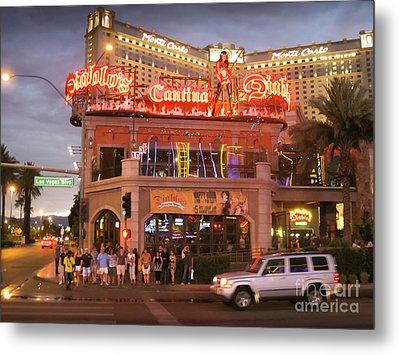 Diablo's Cantina In Las Vegas Metal Print by RicardMN Photography