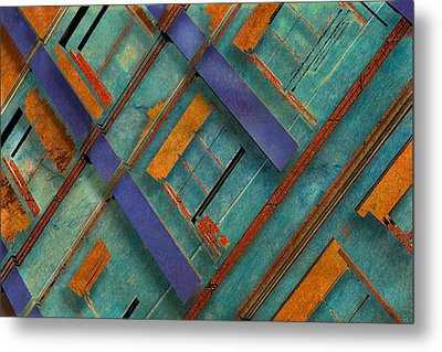Diagonal Metal Print by Don Gradner