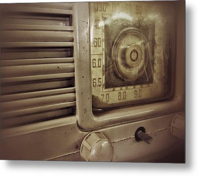 Metal Print featuring the photograph Dialing In by Olivier Calas
