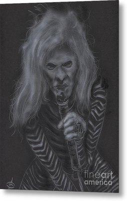 Diamond Dave Metal Print by John Sodja
