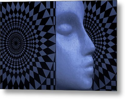 Metal Print featuring the photograph Diamond Shadow 1 by Jeff  Gettis