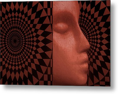 Metal Print featuring the photograph Diamond Shadow 2 by Jeff  Gettis