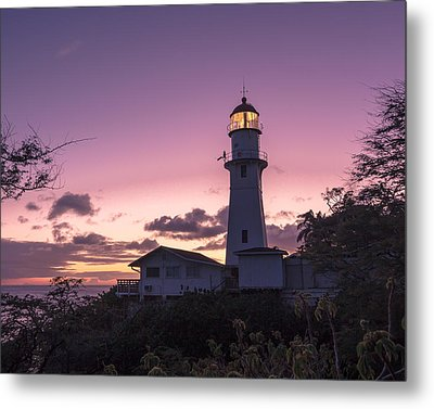 Diamondhead Lighthouse Metal Print by Brian Governale
