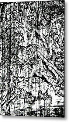 Dice Metal Print by Jera Sky