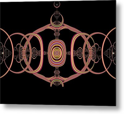 Differentiated Suspension Metal Print by Thomas Smith