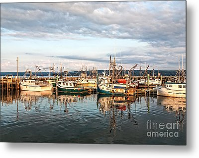 Digby Harbour Metal Print