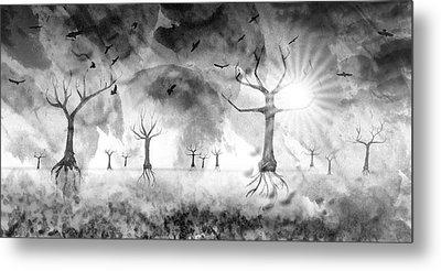 Digital-art Fantasy Landscape IIi Metal Print