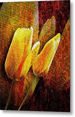 Digital Tulips Metal Print by Svetlana Sewell