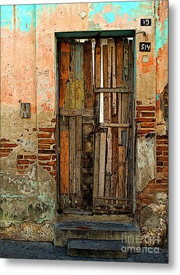 Dilapidated Metal Print by Mexicolors Art Photography