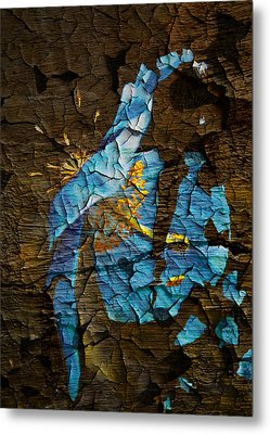 Diminishing Poppy Metal Print by Svetlana Sewell