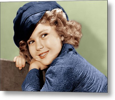 Dimples, Shirley Temple, 1936 Metal Print