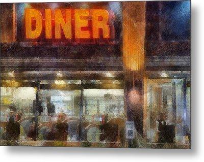 Diner Metal Print by Francesa Miller