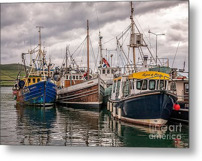 Dingle Harbour Metal Print