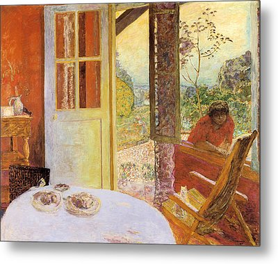 Dining Room In The Country Metal Print by Pierre Bonnard