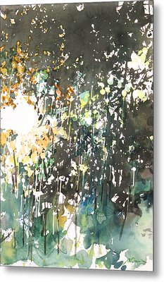 Diptych No.11 Right Metal Print by Sumiyo Toribe