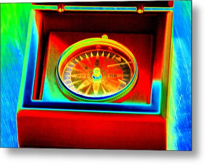 Direction Metal Print by Peter  McIntosh