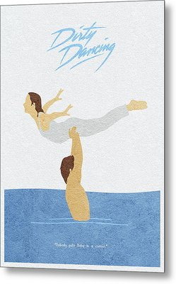 Metal Print featuring the painting Dirty Dancing by Inspirowl