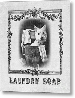 Dirty Dog Laundry Soap Metal Print by Edward Fielding