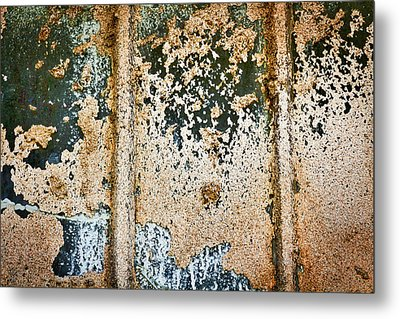 Metal Print featuring the photograph Dirty Window Abstract by Stuart Litoff