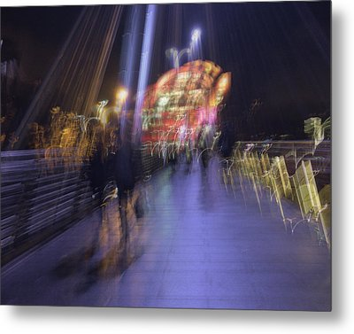 Metal Print featuring the photograph Disassembly by Alex Lapidus