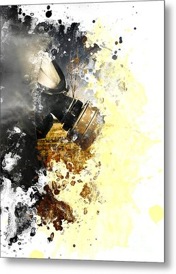 Disaster Of War And Gas Metal Print by Jorgo Photography - Wall Art Gallery