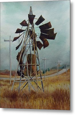 Discarded Along The Road Metal Print by Marcus Moller