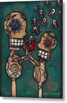 Discover Metal Print by  Abril Andrade Griffith