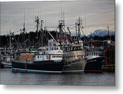 Metal Print featuring the photograph Discovery Harbour by Randy Hall