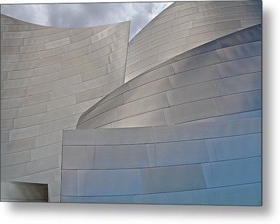 Metal Print featuring the photograph Disney Concert Hall by Kim Wilson