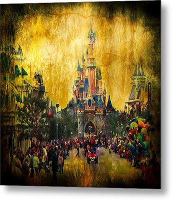 Disney World Metal Print by Svetlana Sewell