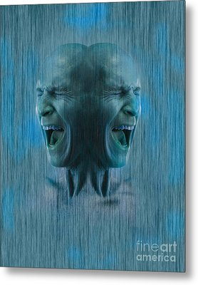 Dissociative Identity Disorder Metal Print by George Mattei