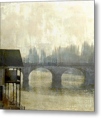 Dissolving Mist Metal Print by LemonArt Photography