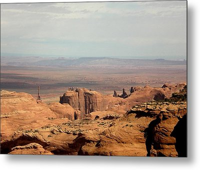 Distant Mesa Metal Print by Fred Wilson