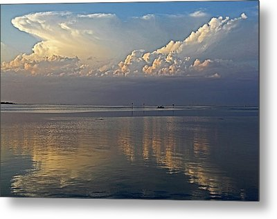 Distant Thunder Metal Print by HH Photography of Florida