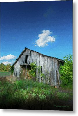 Distress Barn Metal Print by Marvin Spates