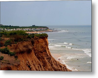 Ditch Plains Montauk Metal Print