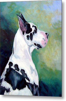Diva The Great Dane Metal Print by Lyn Cook