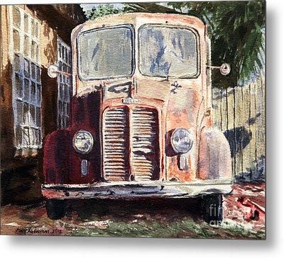 Divco Truck Metal Print by Joey Agbayani