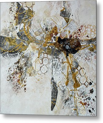 Metal Print featuring the painting Diversity by Joanne Smoley