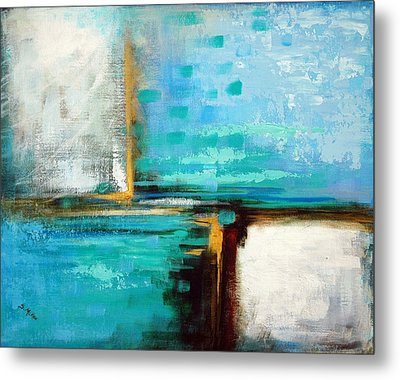 Metal Print featuring the painting Divided Loyalties by Suzanne McKee