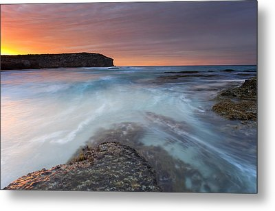 Divided Tides Metal Print by Mike  Dawson