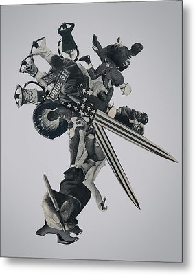 Divided We Fall Metal Print by Joe Castro
