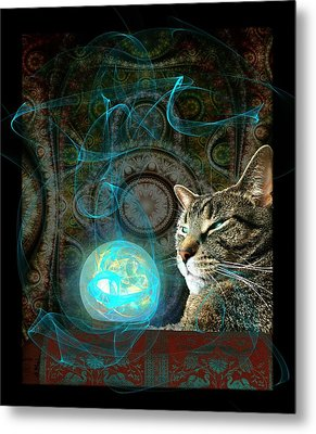 Divination Metal Print